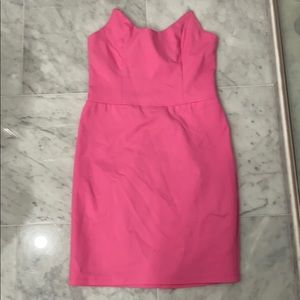 Superdown pink mini dress